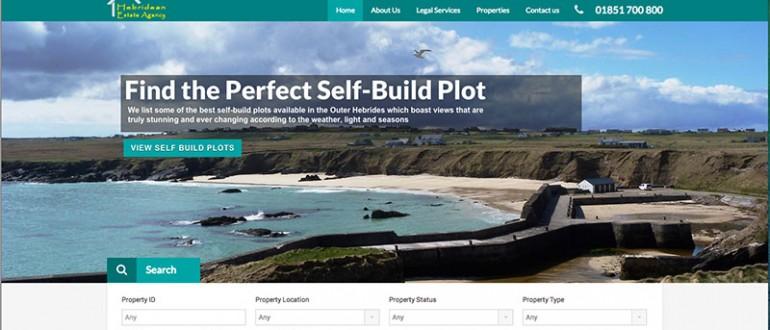 Hebridean Estate Agency Homepage