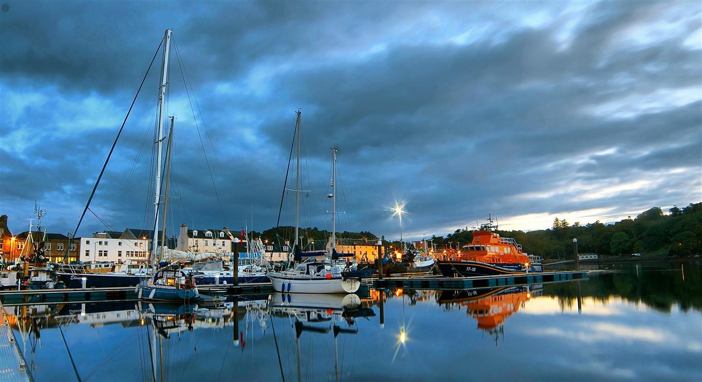 Stornoway Port Authority Website Preview